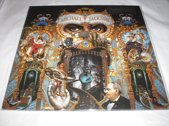 Michael Jackson Dangerous 2 LP Remastered Audiophile Vinyl 2015 MOV Import NEW SEALED