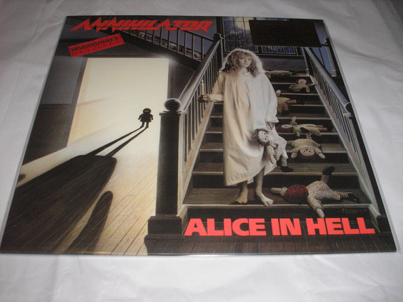 Annihilator Alice in Hell Debut LP 180 Gram BLUE BLACK Mixed Vinyl Ltd MOV NEW SEALED