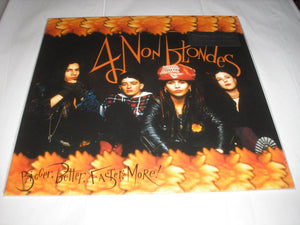 4 Non Blondes Bigger, Better, Faster, More! LP 180 Gram Audiophile Vinyl  ''What's Up,'' MOV NEW