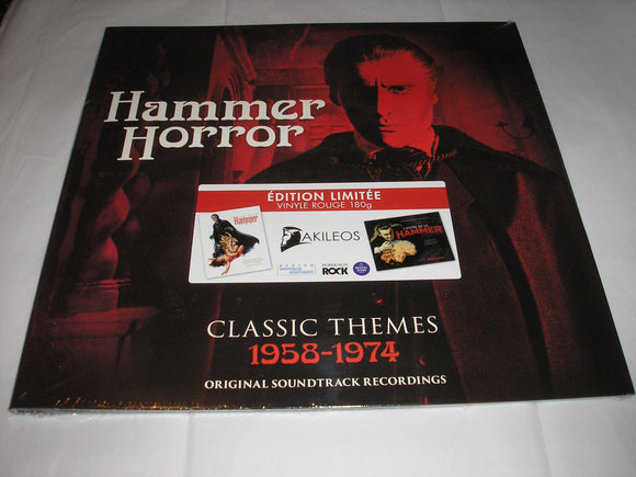 Hammer Horror Classic Themes Soundtracks LP 180g RED Vinyl SCARCE FRANCE Ltd Ed NEW SEALED