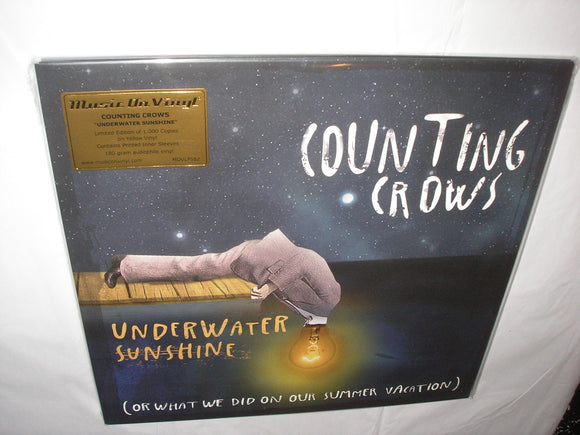 Counting Crows Underwater Sunshine 2 LP 180 Gram YELLOW Color Vinyl Ltd MOV NEW SEALED