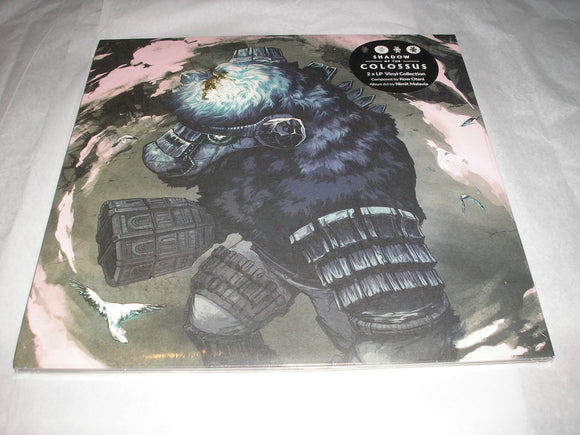 Shadow of the Colossus Original Video Game Soundtrack 2 LP COLOR Vinyl NEW SEALED