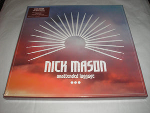 Nick Mason Unattended Luggage 3 LP Vinyl Pink Floyd Drummer SOLO Box Set NEW SEALED