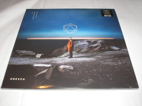 ODESZA A Moment Apart 2 LP CLEAR Vinyl & Download 2017 Release NEW SEALED