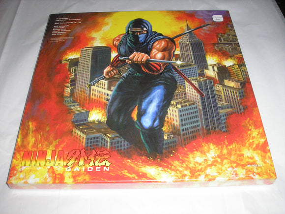 Ninja Gaiden The Definitive Video Game Soundtrack Vol. 1&2 4 LP COLOR Vinyl 59 Tracks NEW SEALED