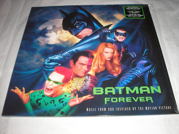 Batman Forever Music From The Motion Picture 2 LP First Time on Vinyl UK Import NEW SEALED