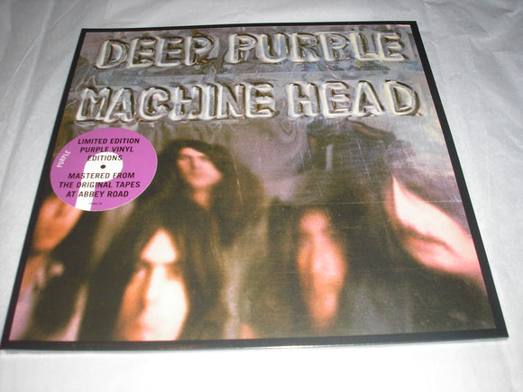 Deep Purple Machine Head LP Purple Color Vinyl EU Exclusive NEW SEALED