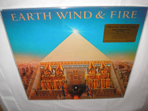 Earth Wind and Fire All n' All LP 180 Gram FLAMING Vinyl & Poster MOV Ltd Num NEW SEALED