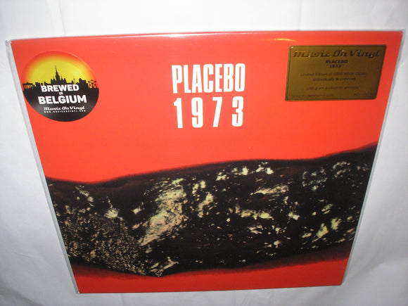 Placebo 1973 LP 180 Gram WHITE Vinyl MOV Ltd Ed NEW SEALED