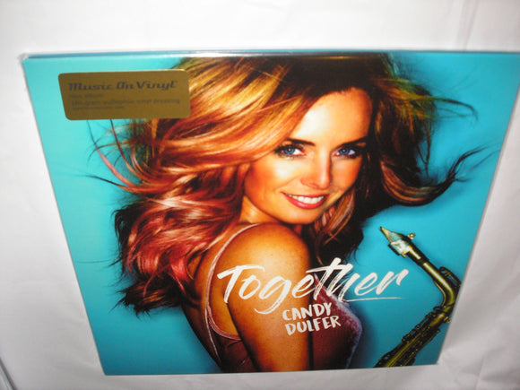 Candy Dulfer Together 2 LP 180 Gram BLACK Audiophile Vinyl 2017 MOV RELEASE SAX NEW