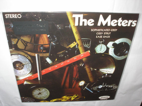 The Meters Self Titled Debut LP 180 Gram Audiophile Vinyl MOV Import NEW SEALED