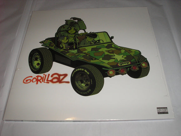 Gorillaz Self Titled 2 LP Vinyl Gatefold NEW SEALED