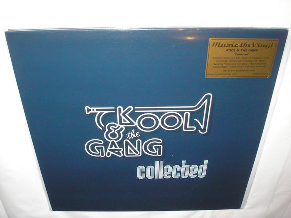 Kool & the Gang Collected 2 LP 180 Gram TURQUOISE Vinyl MOV Ltd Numbered NEW SEALED