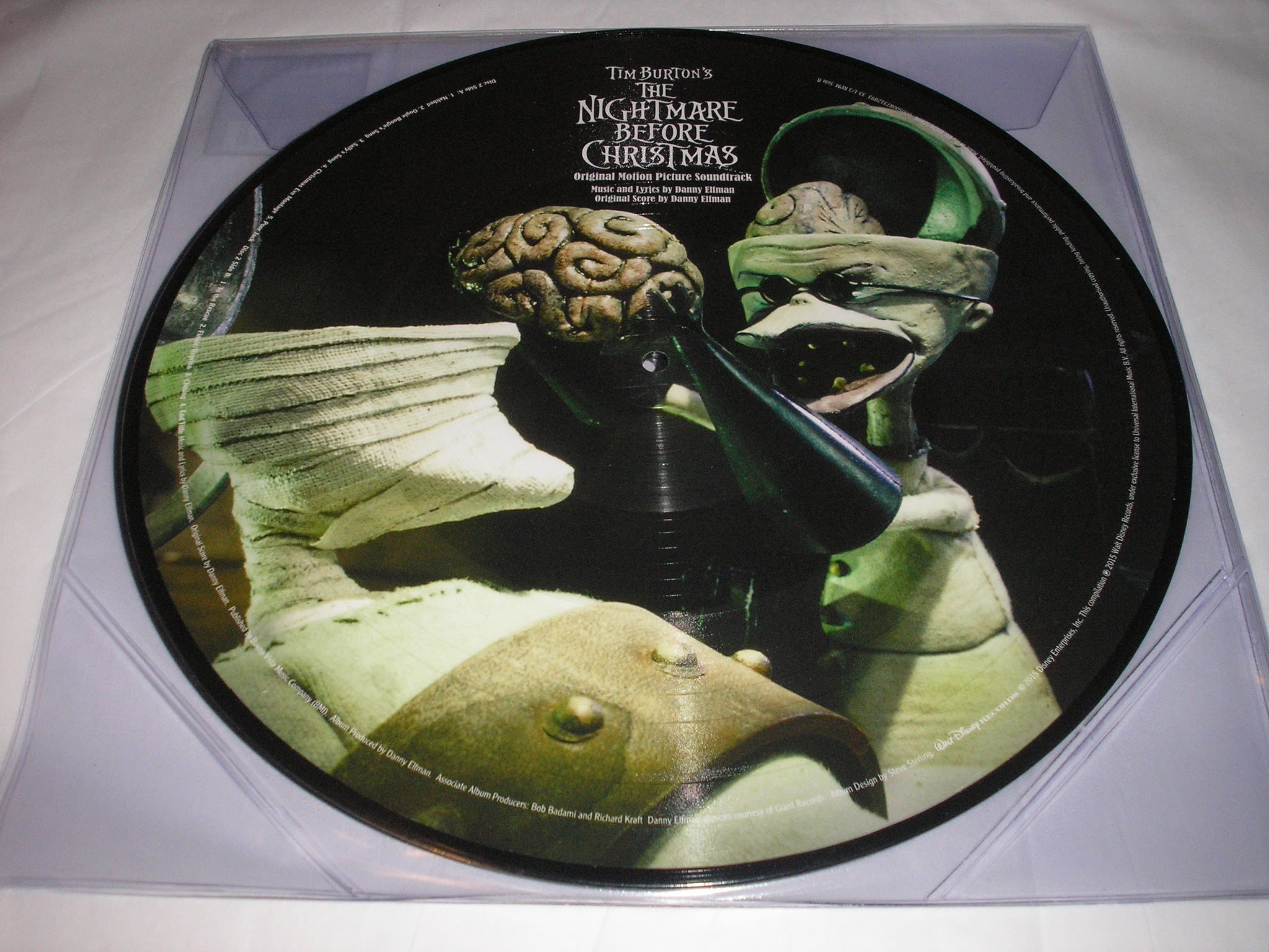 Tim Burton\'s The Nightmare Before Christmas Soundtrack 2 LP PICTURE ...