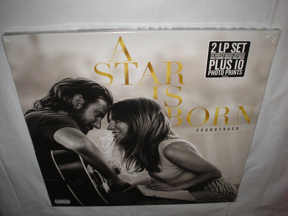 A Star Is Born Lady Gaga / Bradley Cooper Original Motion Picture Soundtrack 2 LP Vinyl NEW SEALED