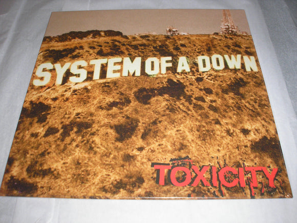 System Of A Down SOAD Toxicity LP Vinyl EU Import 2018 Reissue NEW SEALED