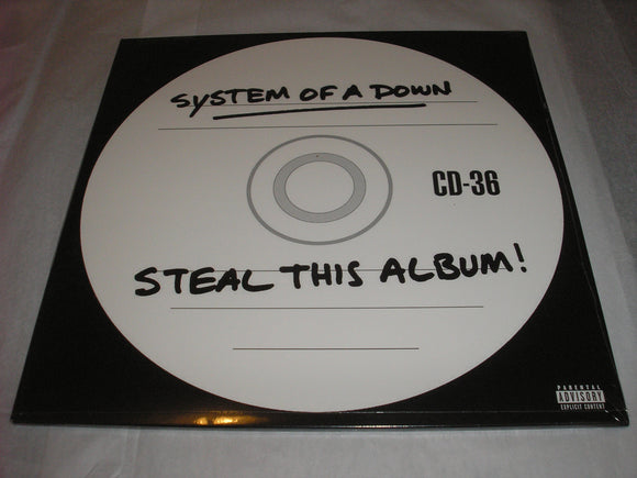 System Of A Down SOAD Steal This Album! 2 LP Vinyl EU Import 2018 Reissue NEW SEALED