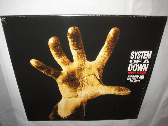 System Of A Down SOAD Self Titled DEBUT LP Vinyl EU Import 2018 Reissue NEW SEALED