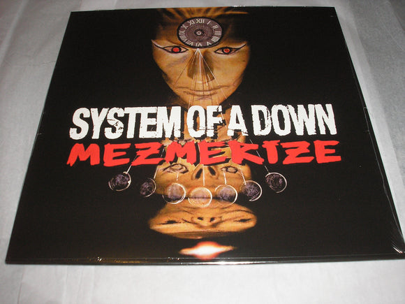 System Of A Down SOAD Mezmerize LP Vinyl EU Import 2018 Reissue NEW SEALED
