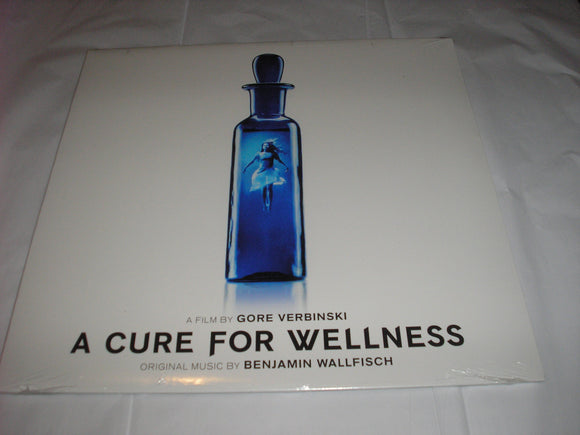 A Cure For Wellness LP 180 Gram Pearlescent White Vinyl & Download Milan NEW SEALED