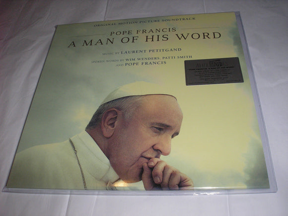 Pope Francis A Man of His Word Soundtrack Patti Smith 2 LP 180 Gram WHITE Vinyl MOV NEW SEALED
