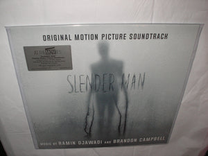 Slender Man Original Soundtrack LP 180 Gram CLEAR & BLACK Swirled Vinyl Ltd 666 MOV NEW SEALED