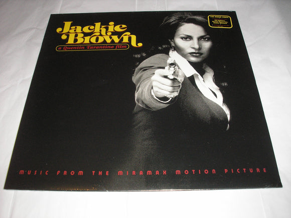Jackie Brown (Music From The Miramax Motion Picture) Various Artists LP 180 Gram Vinyl & Download Compilation NEW SEALED