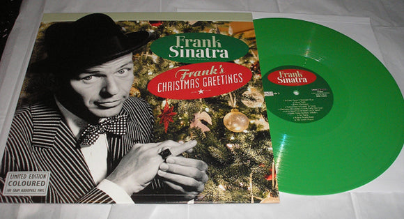 Frank Sinatra Frank's Christmas Greetings LP 180 Gram GREEN Color Vinyl NEW SEALED