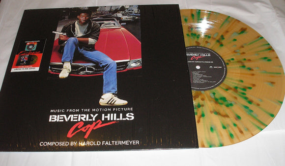 Music From The Motion Picture Beverly Hills Cop Score Soundtrack LP Palm Tree Splatter Vinyl Bonus Tracks EAS Exclusive NEW SEALED