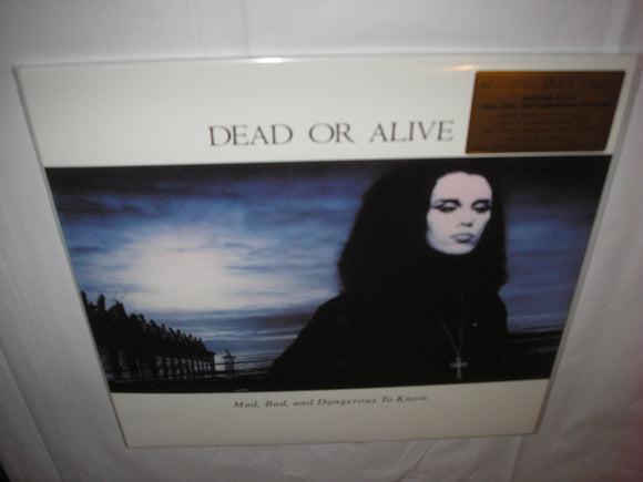 Dead or Alive Mad, Bad, and Dangerous to Know LP 180 Gram WHITE Mixed Color Vinyl MOV Ltd NEW SEALED