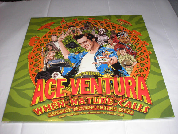 Ace Ventura When Nature Calls Soundtrack LP JUNGLE GREEN Vinyl Limited 400 NEW SEALED