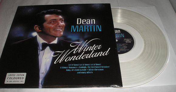 Dean Martin Winter Wonderland LP 180 Gram CLEAR Colored Vinyl EU Import Limited Ed NEW SEALED