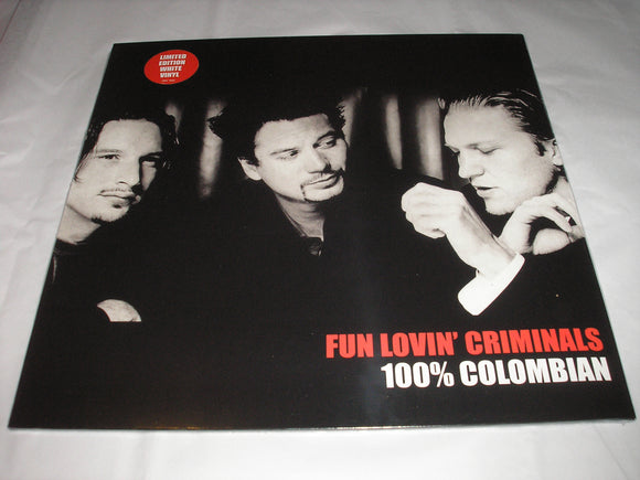 Fun Lovin' Criminals 100% Columbian LP White Coloured Vinyl Limited Edition NEW SEALED