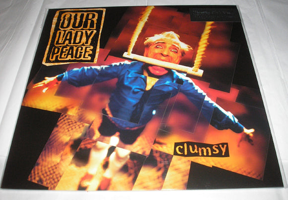Our Lady Peace Clumsy LP 180 Gram BLACK Audiophile Vinyl MOV Import NEW SEALED