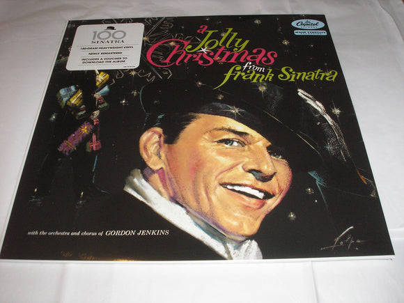 Frank Sinatra A Jolly Christmas From Frank Sinatra LP 180 Gram Remastered Vinyl & Download High Fidelity EU Import NEW SEALED