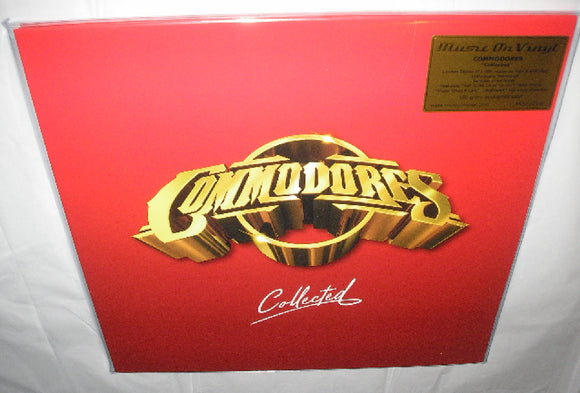 Commodores Collected 2 LP 180 Gram GOLD & RED Vinyl FUNK SOUL Ltd Numbered MOV NEW SEALED