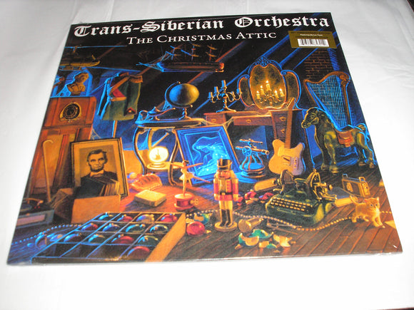Trans-Siberian Orchestra The Christmas Attic 20th Anniversary Edition Bonus Track 2 LP Vinyl NEW SEALED