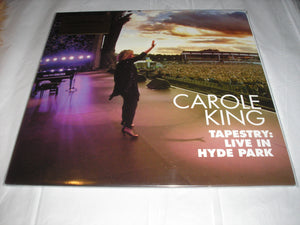Carole King Tapestry Live in Hyde Park 2 LP 180 Gram Audiophile Vinyl MOV Import NEW SEALED