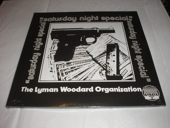 The Lyman Woodard Organization Saturday Night Special 2 LP STRATA Vinyl JAZZ FUNK NEW SEALED