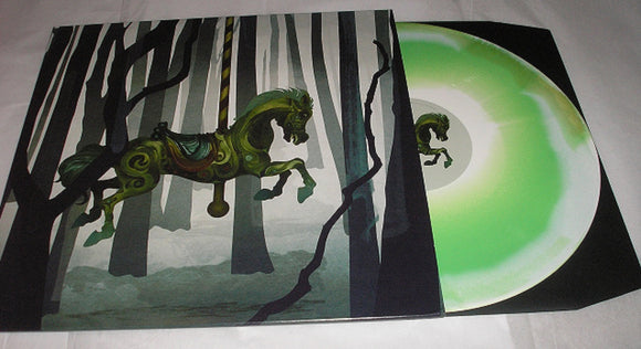 Alone In The Woods Self Titled DEBUT LP Green Star Burst Vinyl & Download Ltd UK Import NEW