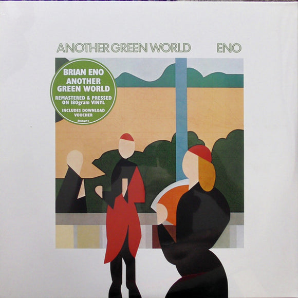 Brian Eno Another Green World LP Vinyl EU Import NEW SEALED