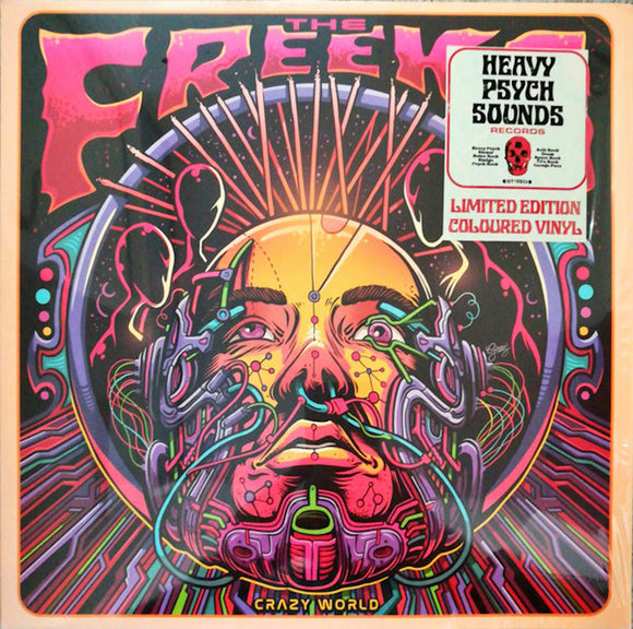 The Freeks  Crazy World LP Purple Vinyl NEW