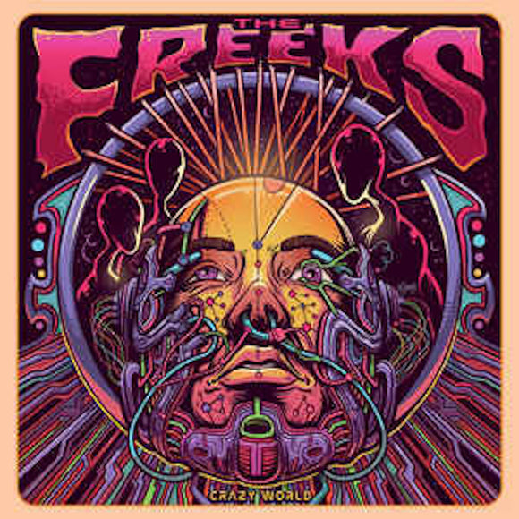 The Freeks  Crazy World LP Vinyl NEW