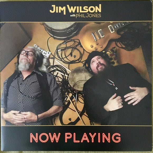 Jim Wilson with Phil Jones Now Playing LP Vinyl NEW