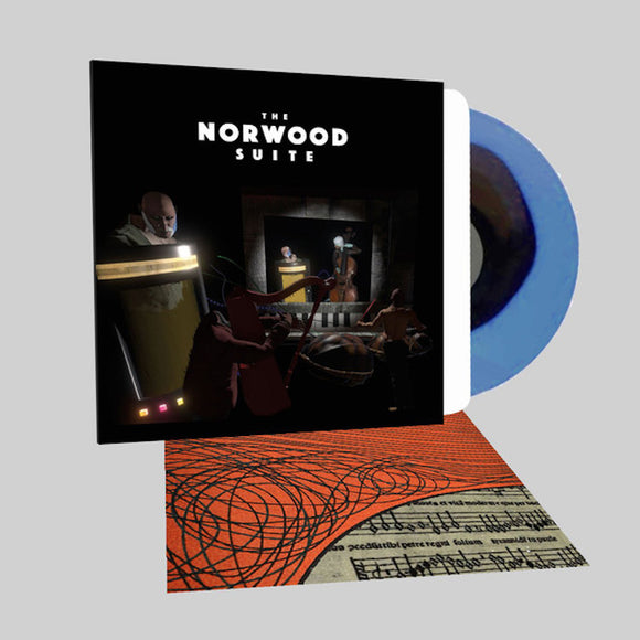 Cosmo D  The Norwood Suite Soundtrack LP Black In Blue Colored Vinyl Bonus Track