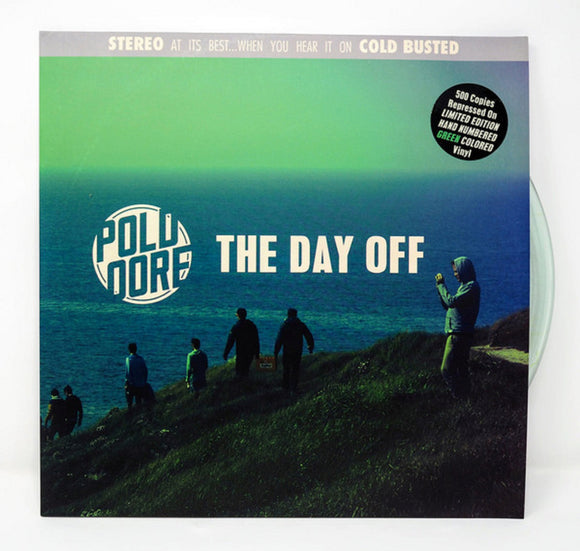 Poldoore The Day Off LP Green Translucent Colored Vinyl Ltd Ed NEW