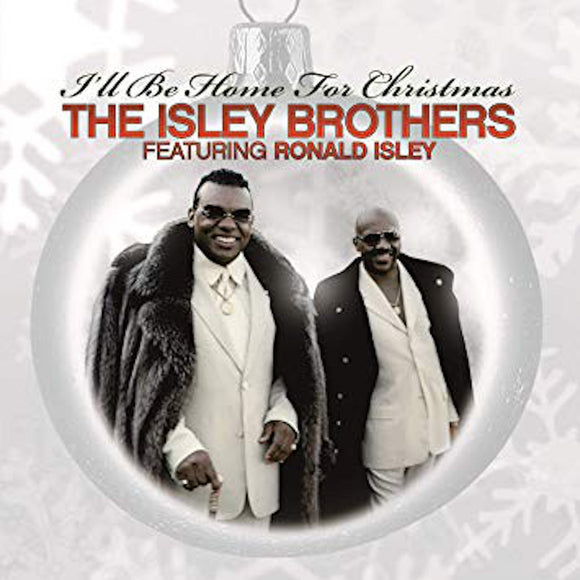 The Isley Brothers I'll Be Home For Christmas LP RED Vinyl NEW