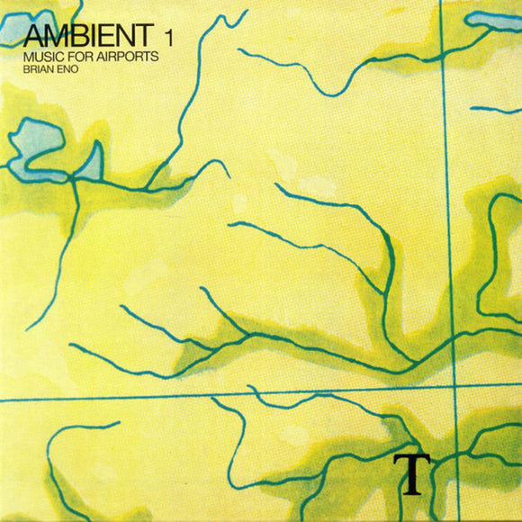 Brian Eno Ambient 1: Music For Airports LP 180 Gram Remastered Vinyl EU Import NEW SEALED