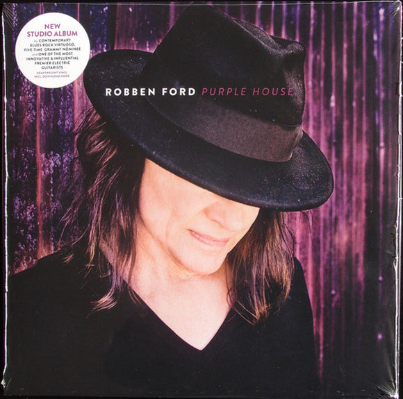 Robben Ford Purple House LP Vinyl & Download EU Import NEW