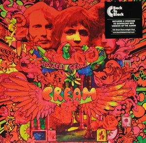 Cream Disraeli Gears LP 180 Gram Vinyl & Download UK Import NEW SEALED